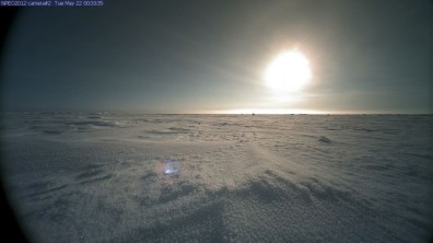 Screencap, Live cam at North Pole, May 28, 2012