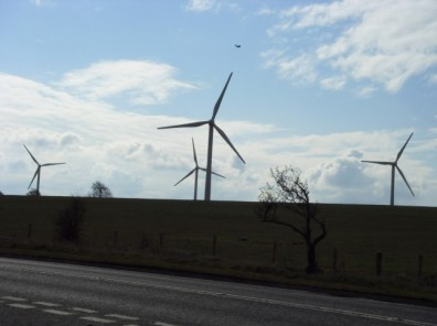 UK wind turbines