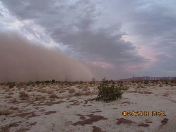 Dust....