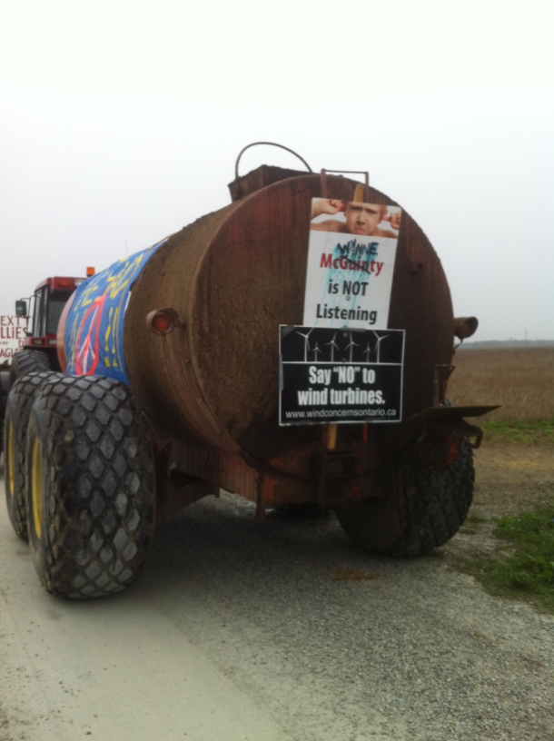 Another manure spreader, this one for the Liberal Party of Ontario
