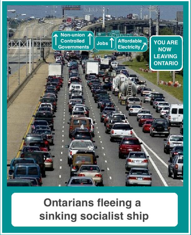 Fleeing Ontario