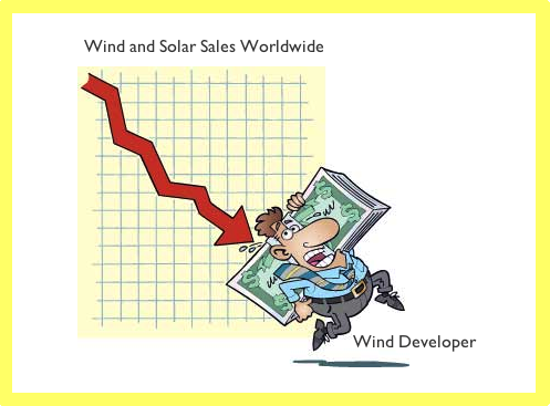 Wind and Solar sales