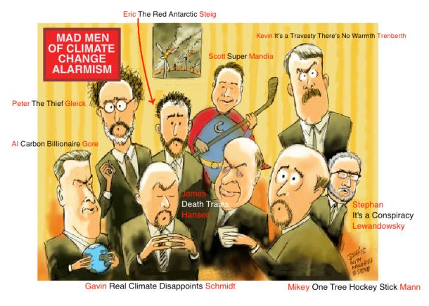 Mad Men Climate Change Alarmism
