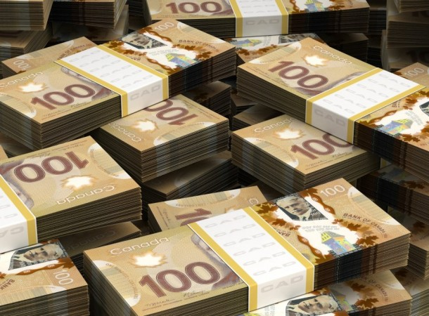 Canadian dollar money