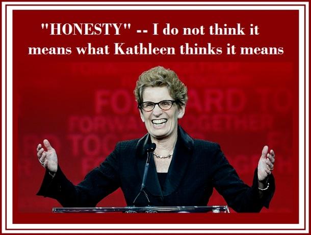 Leadership candidate Wynne speaks after winning the leadership bid in Toronto