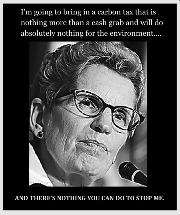 Wynne Carbon tax