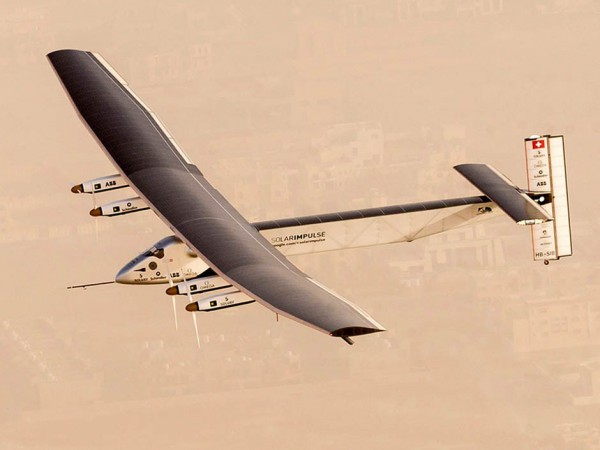 Solar Plane Takes Off In Round The World Attempt