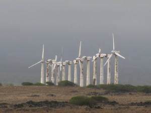 Komoa Wind Farm, South Point Hawaii 2010